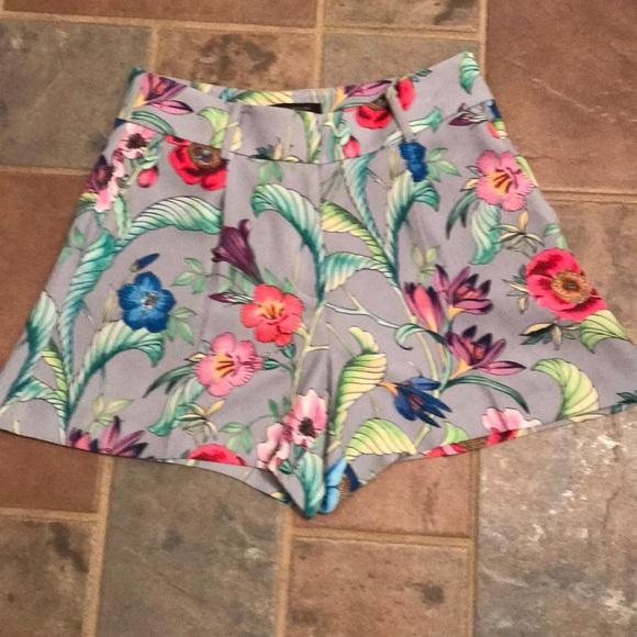 Ann Taylor Pants - NWTS Ann Taylor Tropical floral shorts 2P